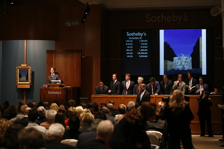 What percentage does sotheby's take in auction