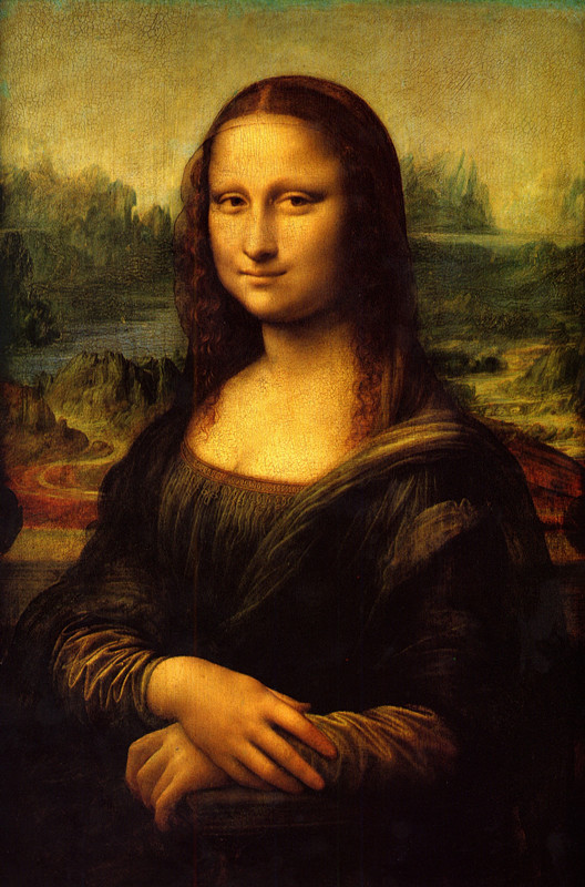 Leonardo Da Vinci's Sfumato Painting Technique-Mona Lisa